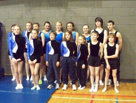 CETC Competitors at Banchory DMT Competition