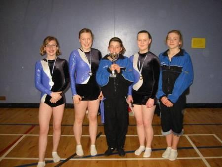 CETC Schools Championships 2010 -  The winning school:    <B>LIBERTON HIGH SCHOOL, EDINBURGH</B>