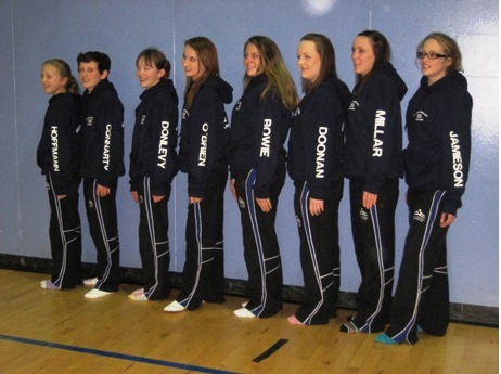 CETC Home Nations Team 2012 in their Scotland Team Kit