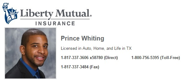 Liberty Mutual Insurance - Agent: Prince Whiting