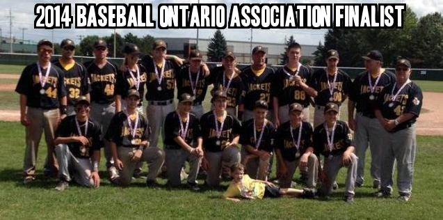 Baseball Ontario Association Finalist