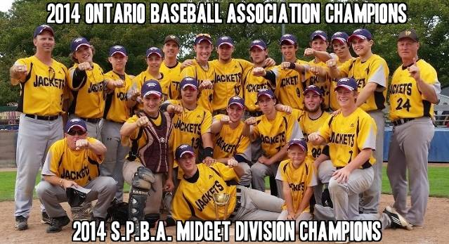 Baseball Ontario and Sun Parlour Champs