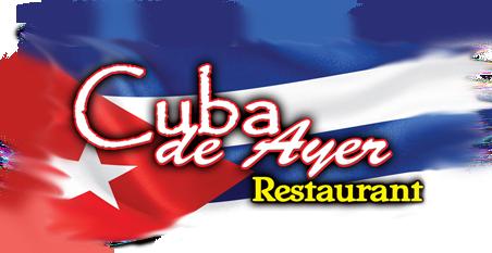 CUBA DE AYER RESTAURANT - GOLD SPONSOR!