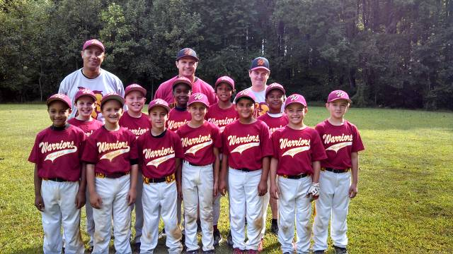 Maryland Warriors 10U Fall 2013
