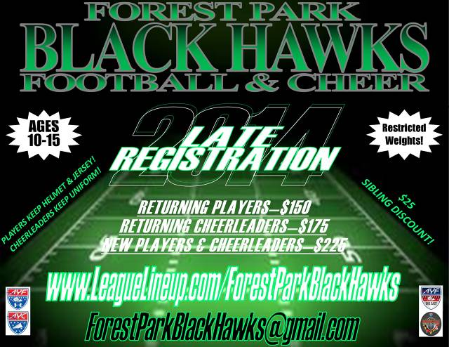 2014 Later Registration Flyer