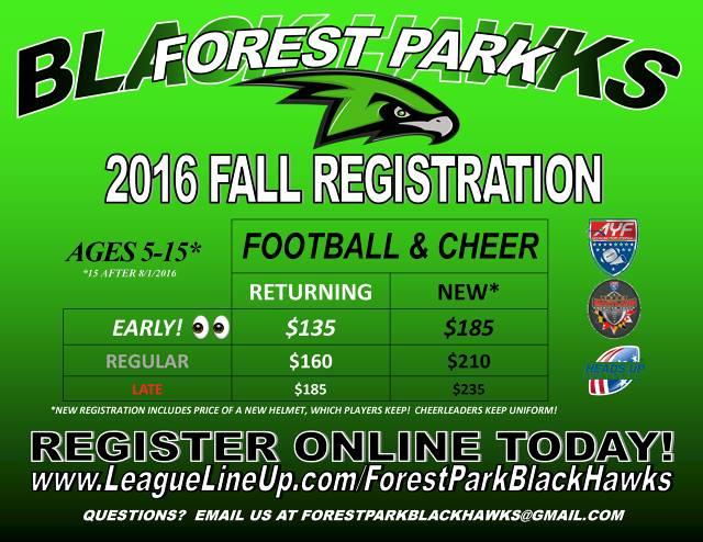 2016 Fall Registration
