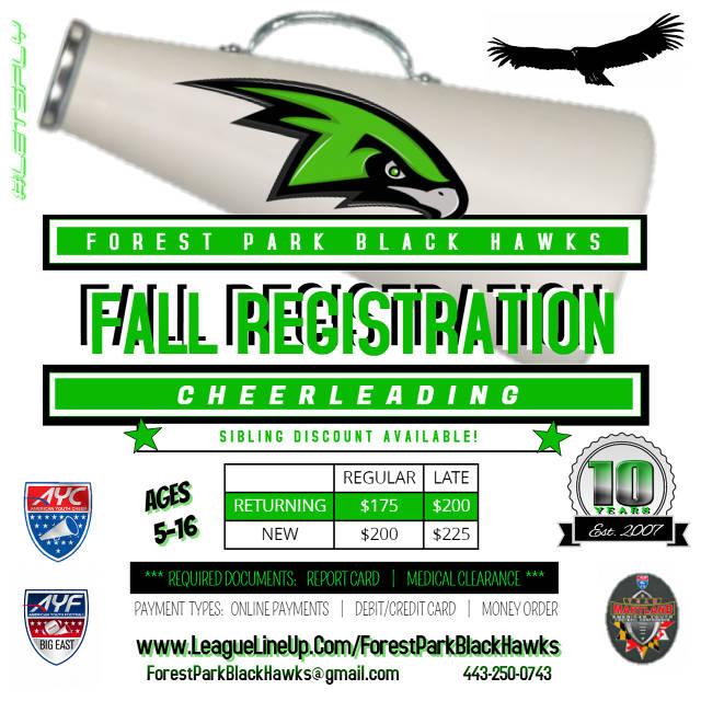 2017 Spring Cheer Registration