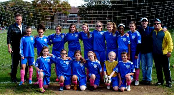 In recognition of Breast Cancer Awareness Month, U14 Rockets wear the PINK!!