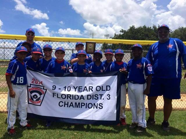 9 & 10 Kissimmee National 2014 District 3 Champs