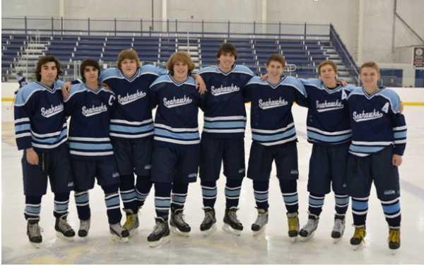 Senior Class 2013 - Dylan Kelly, Kyle Fletcher, Dylan Cornett, David Wasserman, Colin Ferrigno, Ryan Kandare, Jake Gavin, Daniel Fohs