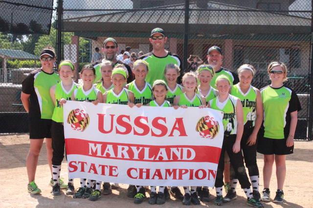 2014 USSSA 10U B MARYLAND STATE CHAMPIONS