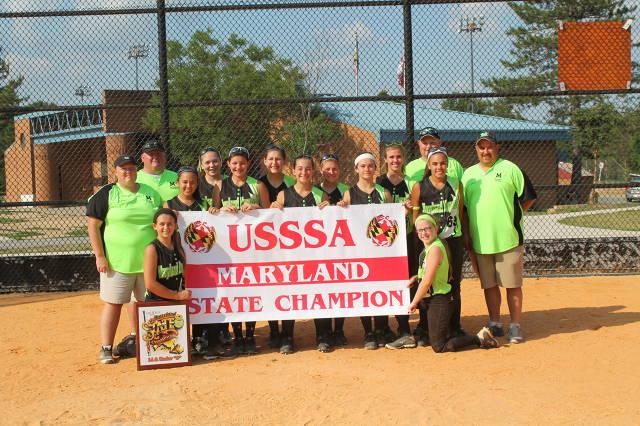 2014 USSSA 14U B MARYLAND STATE CHAMPIONS
