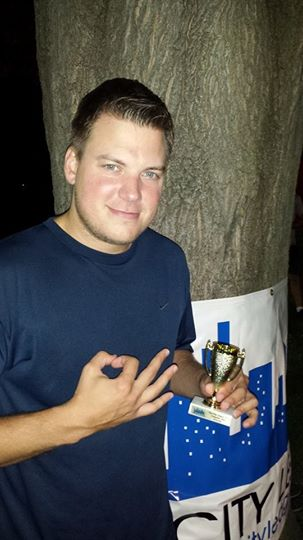 "Spring 2014 ""Crappy Beer"" Award Winner Trevor Anderson"