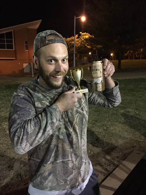 "Late Summer 2015 ""Crappy Beer"" Award Winner