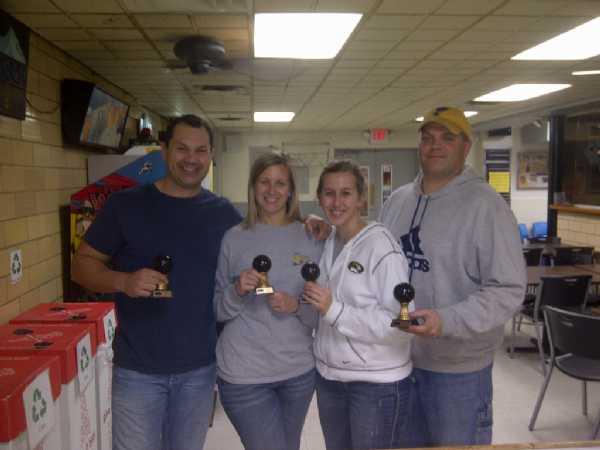 Fall Bowling 2011- 2012 Champs Wild Turkeys