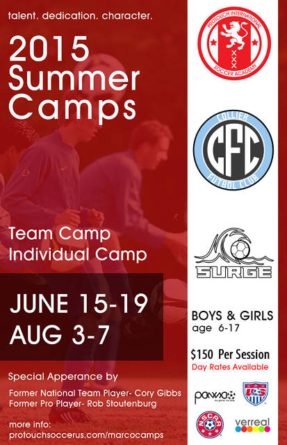 Naples Soccer Summer Camp