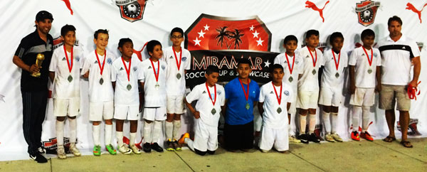 Collier FC Miramar 2nd Place