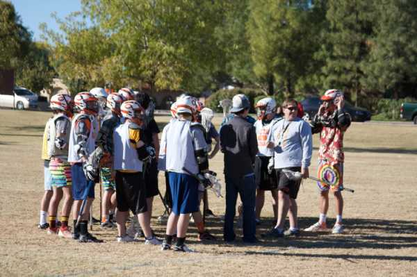 Alumni Pre Game Huddle