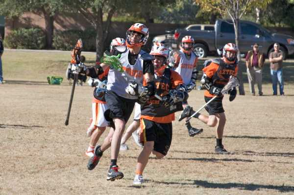 Zach Chruma '09 clearing the ball
