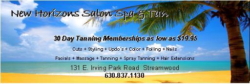 New Horizon's Salon, Spa & Tan