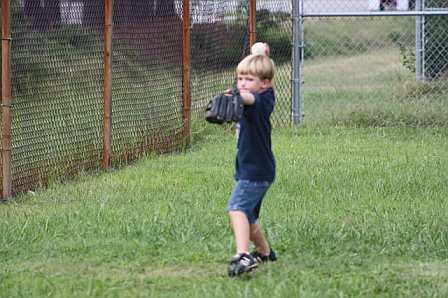 Never to young to work on your pitching.