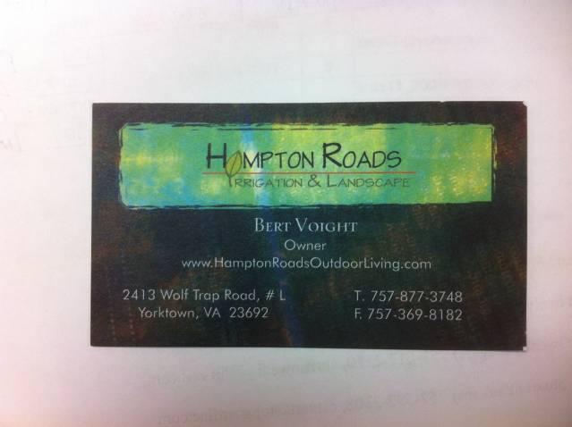 Hampton Roads Irrigation