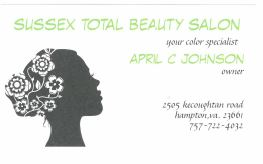 Sussex Total Beauty Salon