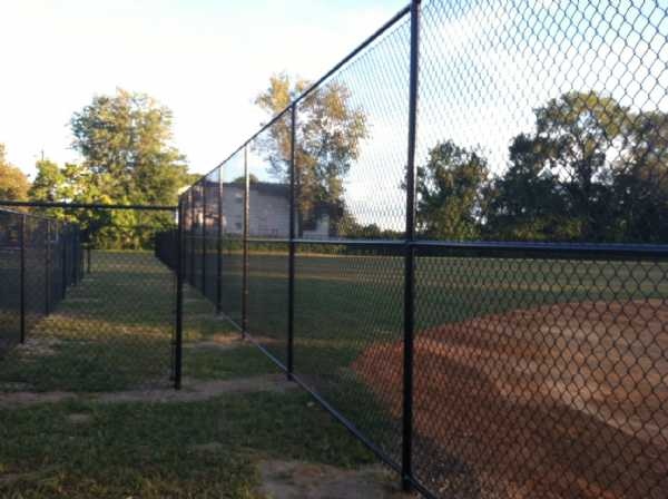 Visitor's Dugout & Bullpen Finished