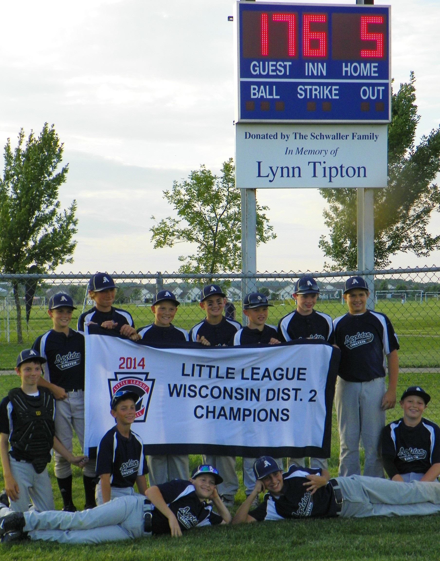 2014 Einstein 11-12 Baseball