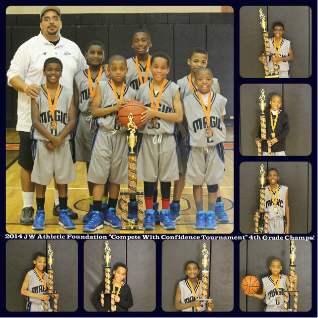 2014 4th Grade Black JWAF Champs