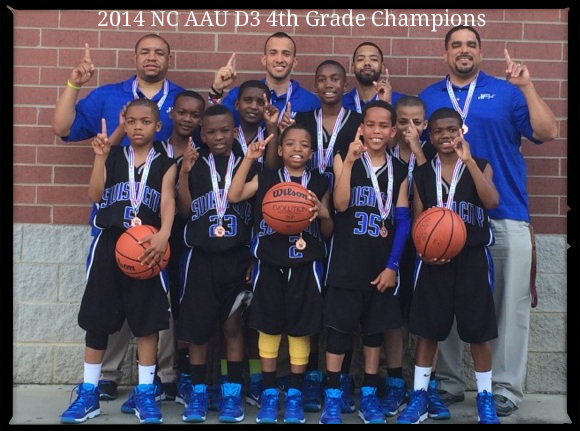 2014 4th Grade Black NC AAU D3 Champs