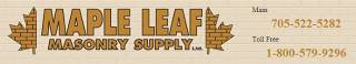 Maple Leaf Masonry Supply Ltd