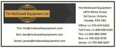 Tim McDowell Equipment Ltd.