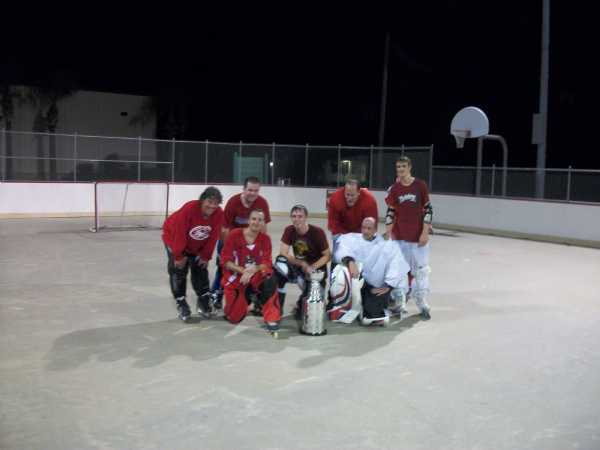 Fall 2011 Champs - Frosted Flakes  (from left to right)  Dennis Kemper, Kenny Glass, Drew Kaznocha, Roman Makarov, Bob St. Claire, Matt Wentworth, Stephen Hood.