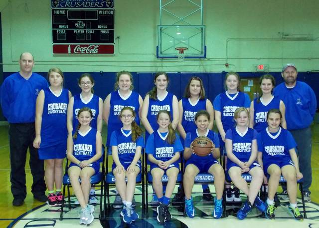 6th Grade Girls - Undefeated Season (10 - 0)