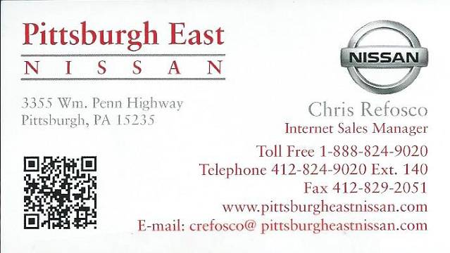 Pittsburgh East Nissan
