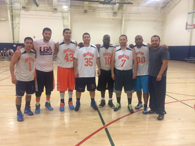 2014 Summer League Men Basketball Champions