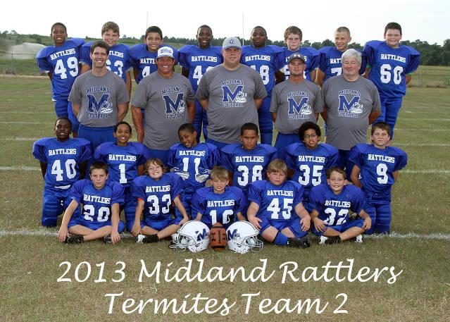 2013 Midland Rattlers - Termites Team 2