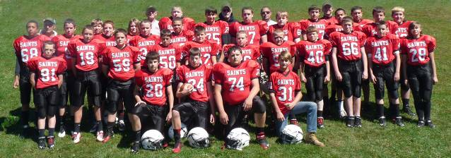 2013 A-C Saints Team Pic