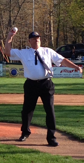 First Pitch at RS (Friday Night).  Thank you Steve Metzger.