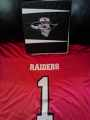 RAIDERS HOME JERSEY WE'RE BACK AND READY FOR ACTION