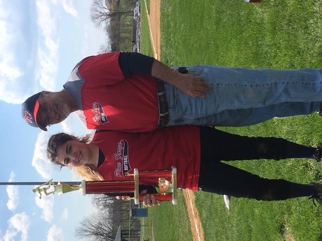 Softball Home Run Derby Champion