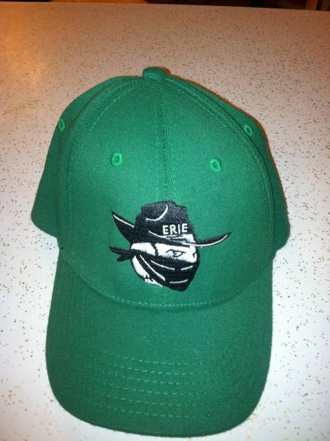 Erie Outlaws St.Patricks Day hat