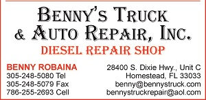Benny's Truck & Auto Repair, Inc.