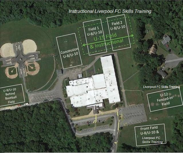 Middle School Field Layout