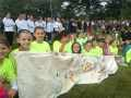 U10 Girls 2015 Parade - U18 MTOC Girls in the backround