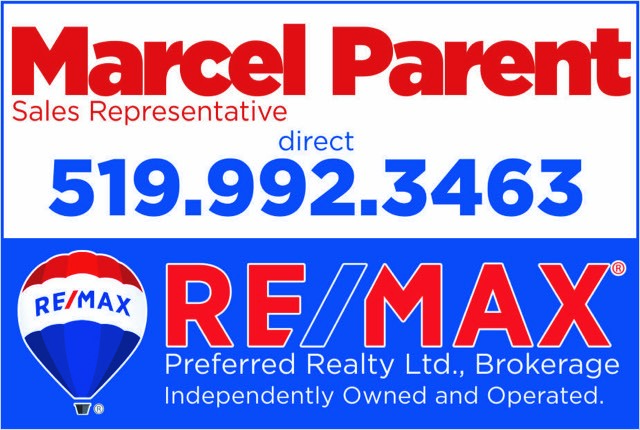 Re/Max Preferred Realty- Marcel Parent