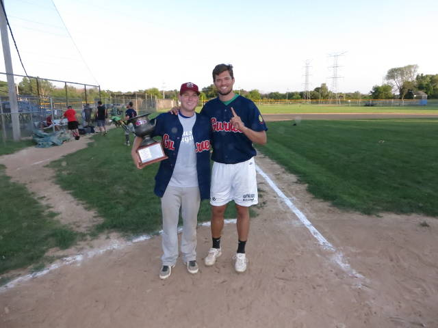 Jason Seveska awarded the Riverdog Cup as MVP!