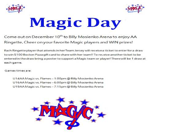 Magic Day - Dec 10, 2017