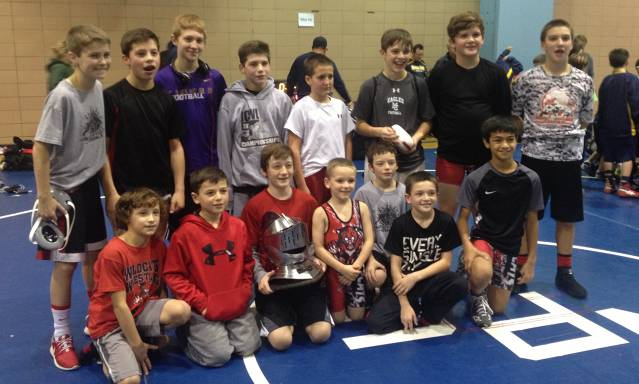North Penn Duals - First place!
